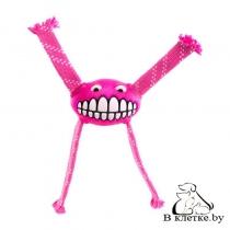 Игрушка резиновая для собак Rogz Grinz Flossy Small