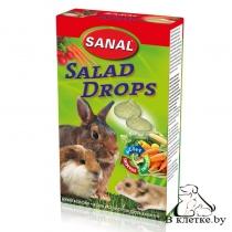 Лакомство грызунам с овощами Sanal Salad Drops