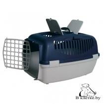 Переноска для собак и кошек до 12кг Trixie Traveller Capri III синяя