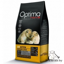 Корм Optima Nova Cat Kitten Chicken & Rice
