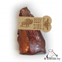 Лакомство Сушеное ухо Beef Zone золотистое