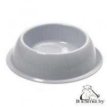 Миска круглая для домашнего питомца Georplast Silver