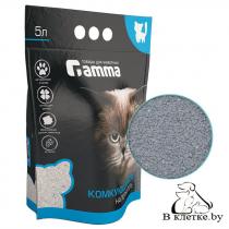 Наполнитель для кошачьих туалетов Gamma комкующийся