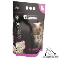 Наполнитель для кошачьих туалетов Gamma впитывающий