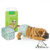 Подгузник для собак 4-7 кг Triol S