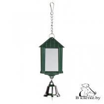 Игрушка для птиц Trixie «Зеркальце в виде фонаря»