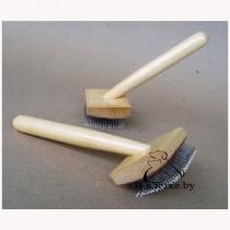 Щетка с каплей деревянная G12 малая