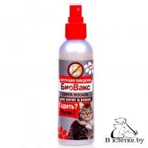 Спрей-лосьон для кошек БиоВакс «Гадить? Нет!»