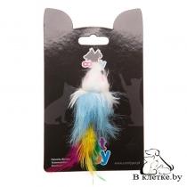Игрушка Comfy Mini Мышь с перьями
