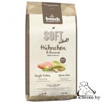 Полувлажный корм Bosch Soft Adult Курица с Бананом
