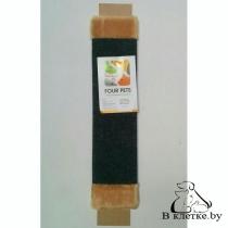 Когтеточка прямоугольная ковровая FOUR PETS TUZ102