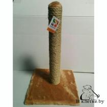 Когтеточка-столбик сизаль FOUR PETS TUZ108