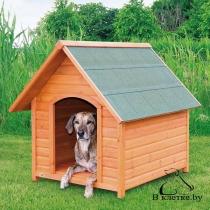 Конура для собаки с остроконечной крышей Trixie natura M 77x82x88см