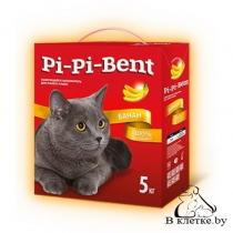 Наполнитель для туалета Pi-Pi-Bent «Банан» коробка