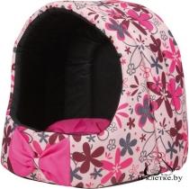 Домик для кошек и собак Crazy M розовый