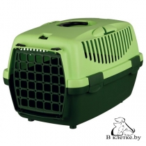 Переноска пластиковая для мелких животных Traveller Capri I зеленая