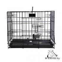 Клетка для животных с фальшдном Happy Pet 76х47х55см