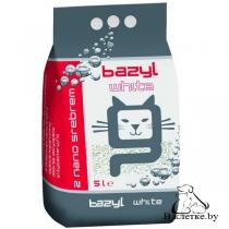 Антибактериальный наполнитель для туалета BAZYL «White»