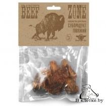 Сушенное говяжье мясо слайсами Beef Zone 6, 5 шт