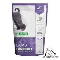 Паучи для собак с чувствительным пищеварением NP Adult Lamb, 100гр