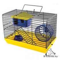 Клетка для хомяков и мышек ECO 2-х этажная