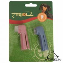 Набор зубных щеток-напальчников Triol