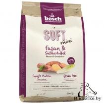 Полувлажный корм Bosch Soft Mini Фазан с Бататом