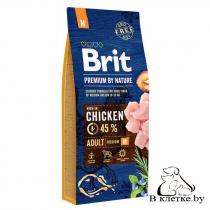 Сухой корм Brit Premium Adult M