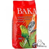 Корм для мелких и средних попугаев ВАКА