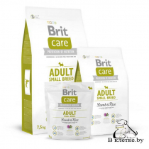 Сухой корм Brit Care Adult Small Breed Lamb & Rice