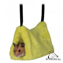 Подвесной домик для грызунов Trixie плюш