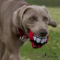 Игрушка мягкая с пищалкой «Зубы» Rogz Grinz Fluffy Large
