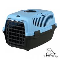 Переноска пластиковая для мелких животных Traveller Capri I голубая