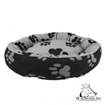 Лежанка для кошек и собак Trixie Sammy-70 серая