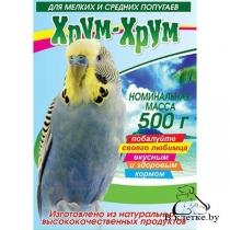 Корм для волнистых и средних попугаев Хрум-хрум