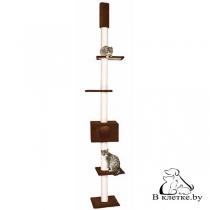 Домик когтеточка Lilli Pet Skyline коричневый