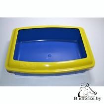 Туалет для кошек ВАКА «Глубокий с бортиком»