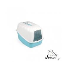 Туалет с фильтром и лопаткой для кошек MPS KOMODA