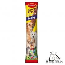 Sanal для собак «Мягкие колбаски с домашней птицей»