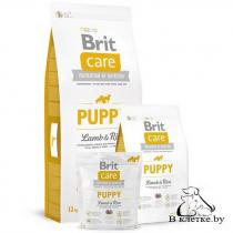 Сухой корм Brit Care Puppy Lamb & Rice