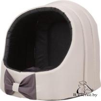 Домик для кошек и собак Exclusive M бежевый