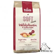 Полувлажный корм Bosch Soft Maxi Буйвол с Бататом