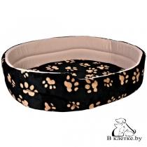 Лежанка для кошек и собак Trixie Charly-55 черная