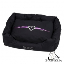 Лежак с подушкой Rogz Spice Pod Purple Chrome