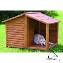 Конура для собаки с верандой Trixie natura L