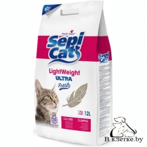 Наполнитель для кошачьего туалета Sepicat LIGHT ULTRA FRESH 12л