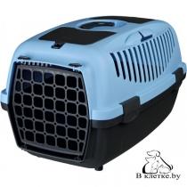 Переноска для животных до 8 кг Trixie Traveller Capri II голубая