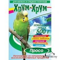 Просо для попугаев Хрум-хрум Формула здоровья
