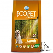 Корм Farmina Ecopet Natural Adult MINI Ягненок