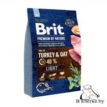 Диетический корм Brit Light Turkey & Oats